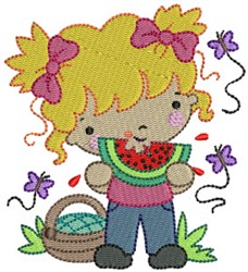 Summer Cuties embroidery design