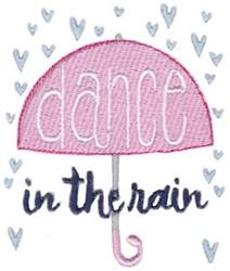Dance in The Rain embroidery design