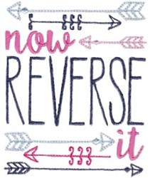 Now Reverse It embroidery design