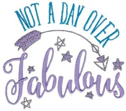 Be Fabulous! embroidery design