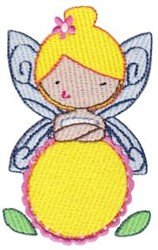 Fairy Girl embroidery design