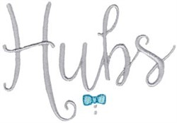 Hubs embroidery design