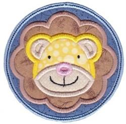 Face It Lion Applique embroidery design