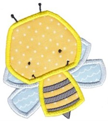 Little Bugs Applique Bumblebee embroidery design