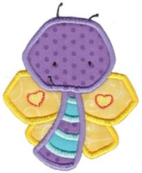 Little Bugs Applique Butterfly embroidery design