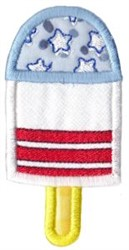 All American Popsicle Applique embroidery design