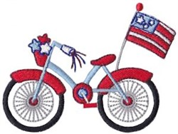 All American Bicycle embroidery design