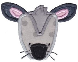 Cute Mouse Applique embroidery design
