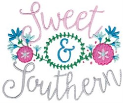 Sweet & Southern embroidery design