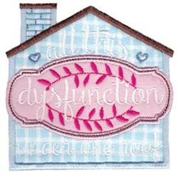 All This Dysfunction embroidery design