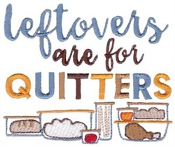 Leftovers For Quitters embroidery design