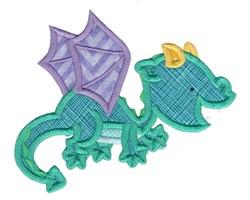 Dragon Applique embroidery design