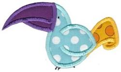 Applique Toucan embroidery design