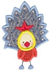 Peacock Applique embroidery design