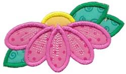 Daisy Applique embroidery design