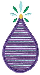 Applique Drop embroidery design