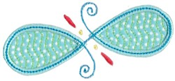 Applique Loops embroidery design