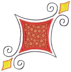 Applique Decor embroidery design
