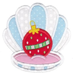Xmas Oyster embroidery design