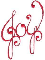 Christmas Joy embroidery design