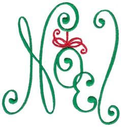 Christmas Noel embroidery design
