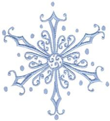 Xmas Snowflake embroidery design