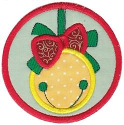 Coaster Bell Applique embroidery design