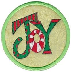 Joy Coaster embroidery design