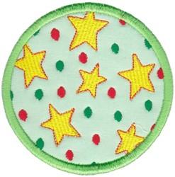 Star Coaster embroidery design