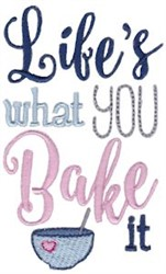 You Bake It embroidery design