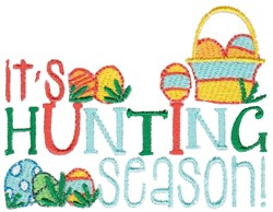 Hunting Season embroidery design