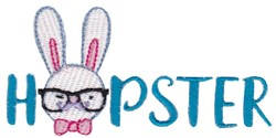 Hopster embroidery design