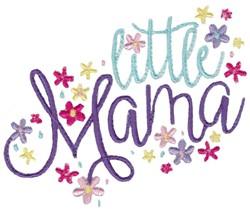 Little Mama embroidery design