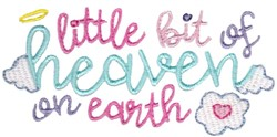 Heaven On Earth embroidery design