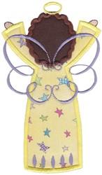 Angel Applique embroidery design