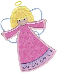 Applique Angels embroidery design