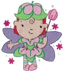 Tulip Fairy embroidery design