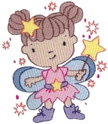 Star Fairy embroidery design