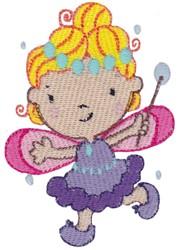 Bubble Fairy embroidery design