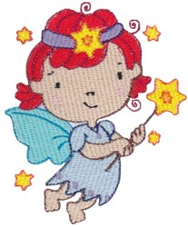 Twinkle Star Fairy embroidery design