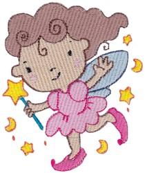 Night Sky Fairy embroidery design