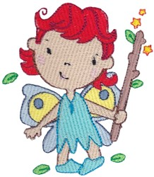 Twig Fairy embroidery design