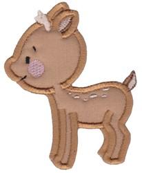 Applique Deer embroidery design