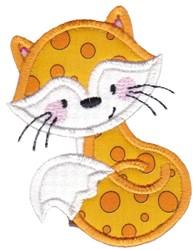 Applique Fox embroidery design