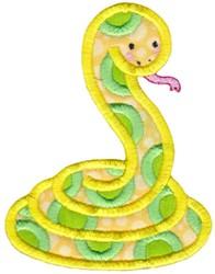 Applique Snake embroidery design