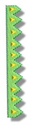 Zig Zag Trim embroidery design