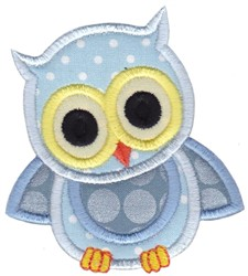 Owls Applique embroidery design