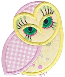 Pretty Owl embroidery design