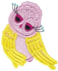 Fancy Owl embroidery design