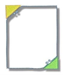 Border Frame embroidery design